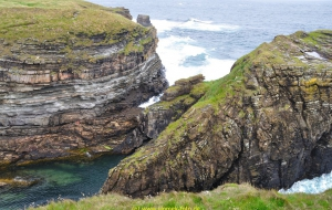 Orkney Inseln, East Mainland, Deerness, Wanderung Mull Head