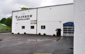 Talisker Whiskey Destillerie