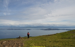 Skye, Wanderung am Old Man Storr vorbei zum Gipfel de Storr, 720 m