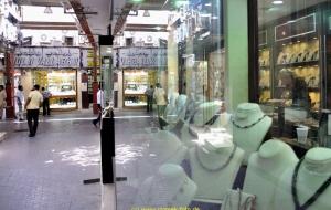 Dubai Stadtbesichtigung, Goldmarkt , Vereinigte Arabische Emirate 22.10.11