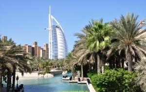 Dubai Stadtbesichtigung, Burj al Arab, Vereinigte Arabische Emirate 22.10.11
