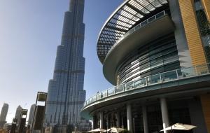 Dubai Stadtbesichtigung, Vereinigte Arabische Emirate 22.10.11
