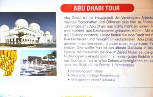 Abu Dabi Stadtbesichtigung 23.10.11