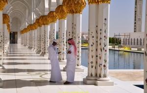 Abu Dabi Schaich-Zayid-Moschee 23.10.11