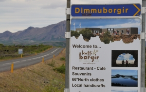 Dimmuborgir Felsformation