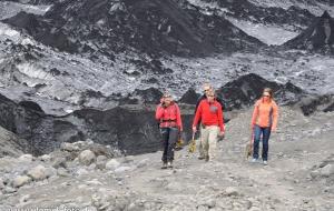 Solheimajökul, Gletscher
