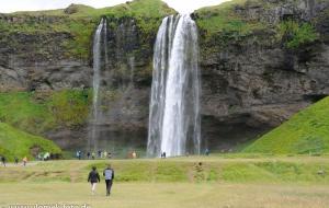 Seljalandsfoss Wasserfall