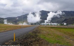 Nesjavallavirkjun Thermalkraftwerk