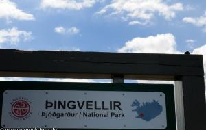 Pingvellier, Kontinentalspalte, Nationalpark