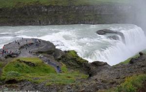 Gulfoss - Wasserfall