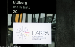 Reykjavik - Konzerthaus Harpa