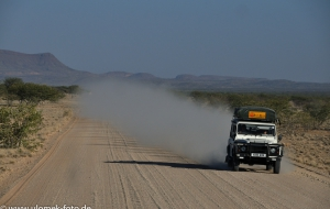 auf dem Weg nach Twyfelfontein, Namibia 2013