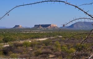 Auf dem Weg zu Vingerklip Namibia 2013