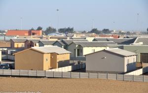 auf dem Wef zum Pelikanpoint bei Walvisbay Namibia 2013