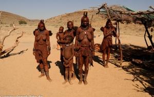 bei den Himbas , Namibia 2013