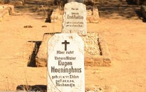 Soldatenfriedhof, ev. Kirche bei Okahandja, Namibia 2013