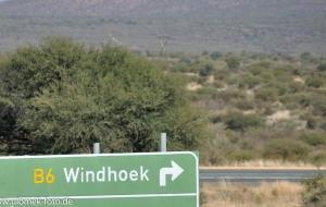 Stadrundfahrt Windhoek, Namibia 2013