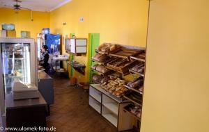 Stop bei Bäckerei in Outjo
