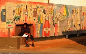 Swakopmund am frühen Morgen, Namibia 2013