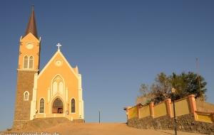 Lüderitz Felsenkirche Namibia 2013