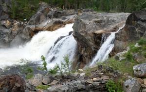 Eidet bru Wasserfall