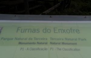 Furnus do Enxofre, heißer Dampf aus der Erde, Teceira