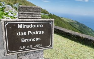 Miradouro das Pedras Brancas auf Sao Jorge