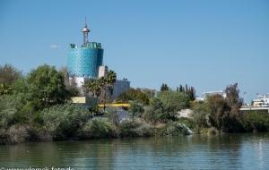 Sevilla Flußkreuzfahrt altes Expogelände