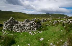 Halbinsel Achill Wanderung rund um das verlassene Dorf