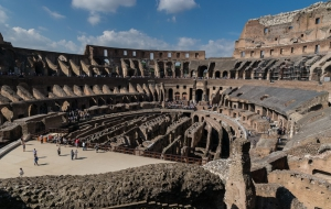 Rom Colosseum am 30.09.16