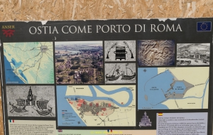 Rom Ausgrabungsstätte Ostia
