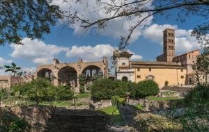 Rom Forum Romanum am 30.09.16