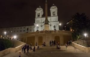 Rom Spanische Treppe 01.10.2016