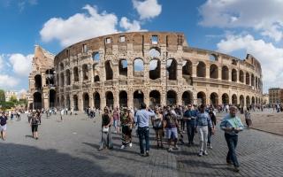 Rom Colosseum am 30.09.16
