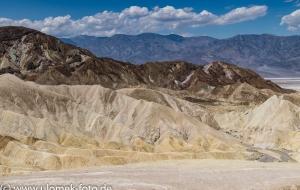 auf dem Weg zum Death Valley,