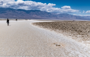 Death Valley, BadWater Basin -85 m NN