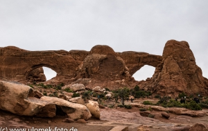 Castle Valley Windows and Arches , bei Moab, Utah