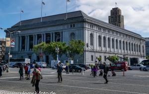 San Franzisco , Rathaus und Umgebung