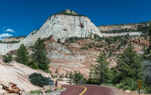 Zion Nationalpark, Viewpoint, über Colorado Plateau zum Red Canyon und Bryce Canyon
