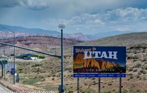 Zion Nationalpark, Viewpoint, über Colorado Plateau zum Red Canyon und Bryce Canyon