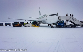 Anreise nach Kittilä Finnland