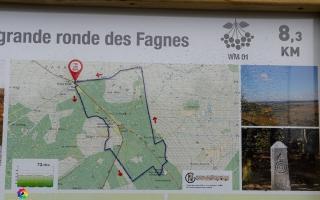 Hohes Venn, Baraque Michel Ausgangspunkt der Wanderung 03.12.19