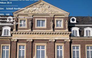 Schloß Nordkirchen 29.11.2020